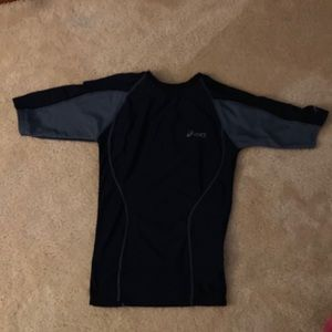 ASICS youth large compression t